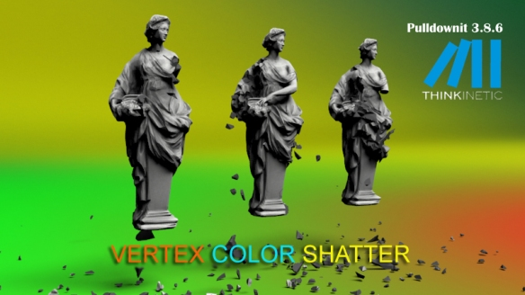 Introducing Vertex Colors Shatter | KineticThoughts